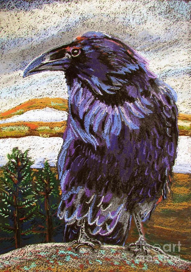 Raven Spirit Pastel