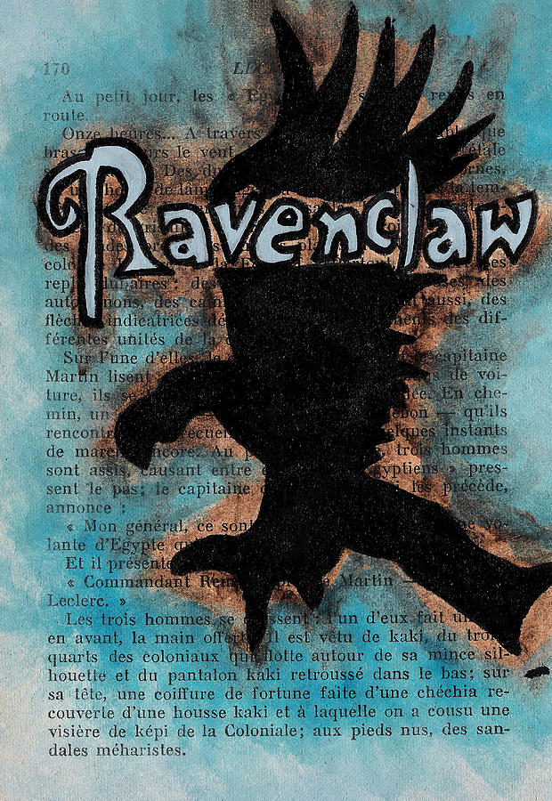 Ravenclaw Eagle Painting