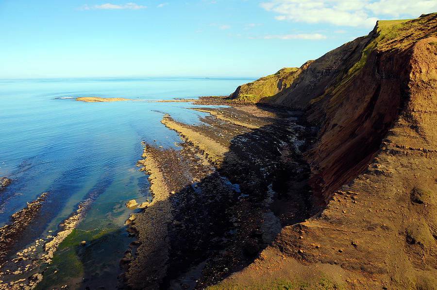 Ravenscar Cliffs Photograph