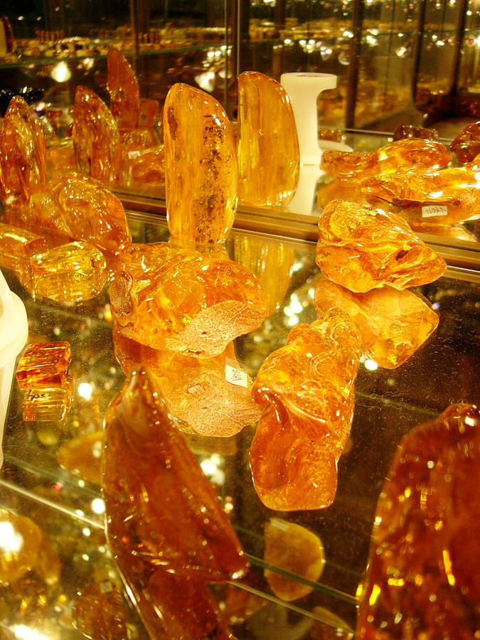 Raw Amber Photograph