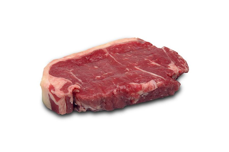 Raw Beef Steak Photograph