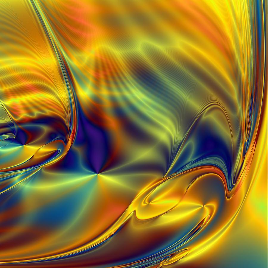 Ray Bradbury Wine. Digital Art