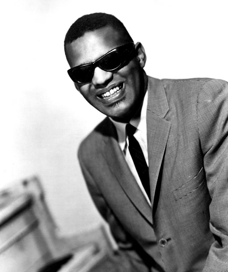 Ray Charles, Portrait Ca. 1966 Photograph