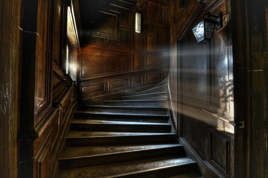 Abandon Photograph - Ray Of Light by Nathan Wright