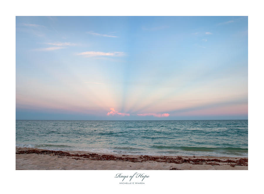 Rays Of Hope Photograph  - Rays Of Hope Fine Art Print