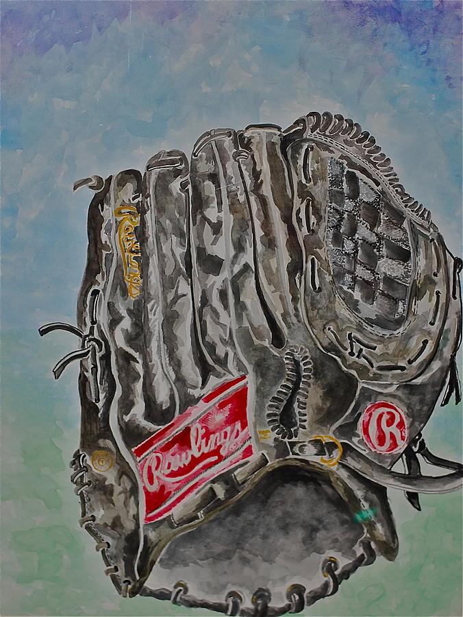 Rawlings Painting - Rbg 36 B Ken Griffey Jr. by Jame Hayes