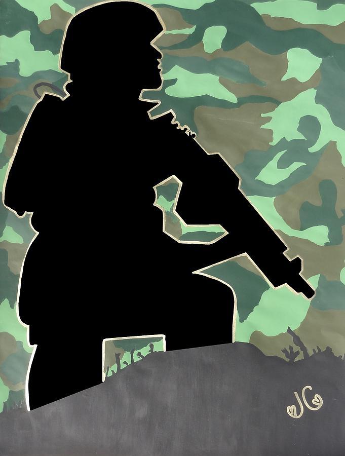 Ready For Battle II Digital Art