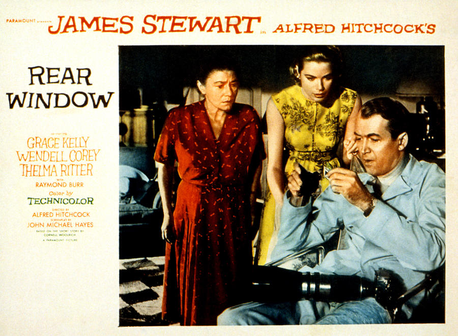 Rear Window, Thelma Ritter, Grace Photograph  - Rear Window, Thelma Ritter, Grace Fine Art Print
