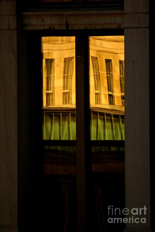 reflection Photographs Photograph - Rectangular Reflection by Aimelle