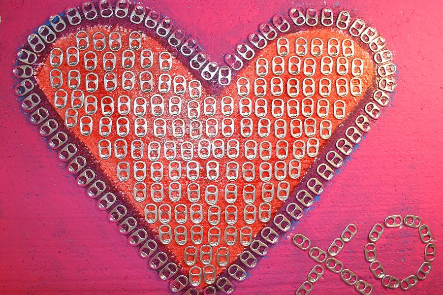 Recycled Love Mixed Media  - Recycled Love Fine Art Print