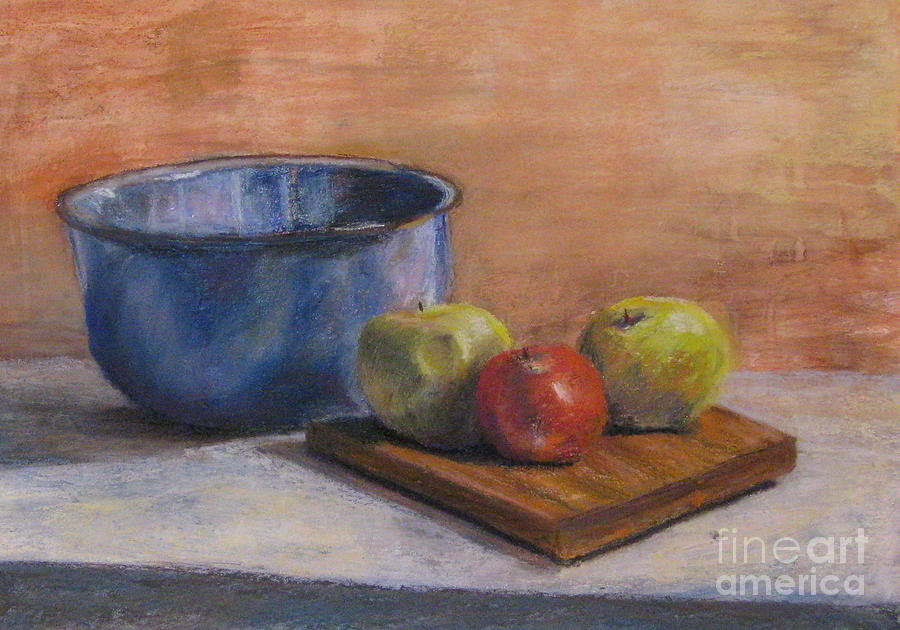 Red Apple Painting  - Red Apple Fine Art Print