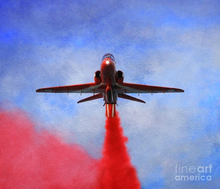Red Arrow Photograph  - Red Arrow Fine Art Print