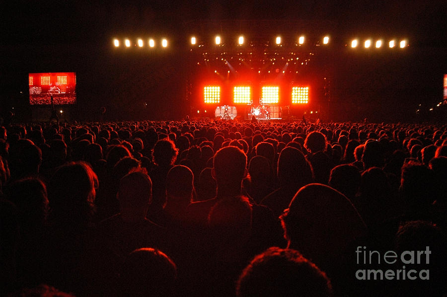 Red Audience Photograph