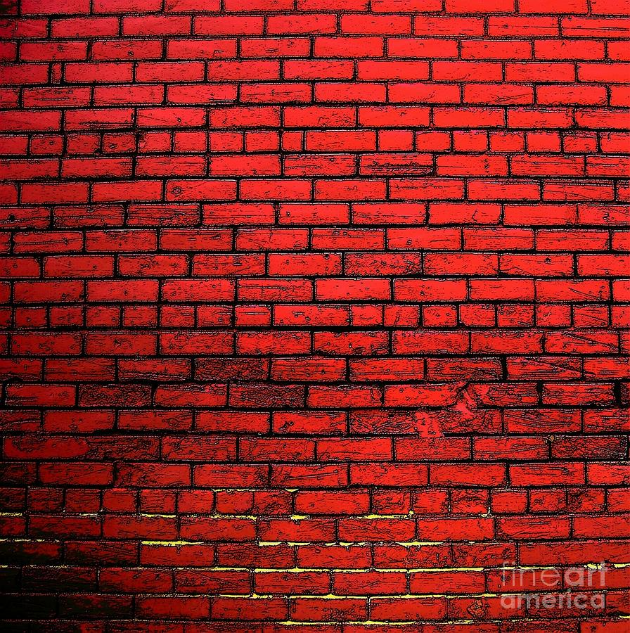 pin red brick wall wallpaper 7475 open walls on pinterest