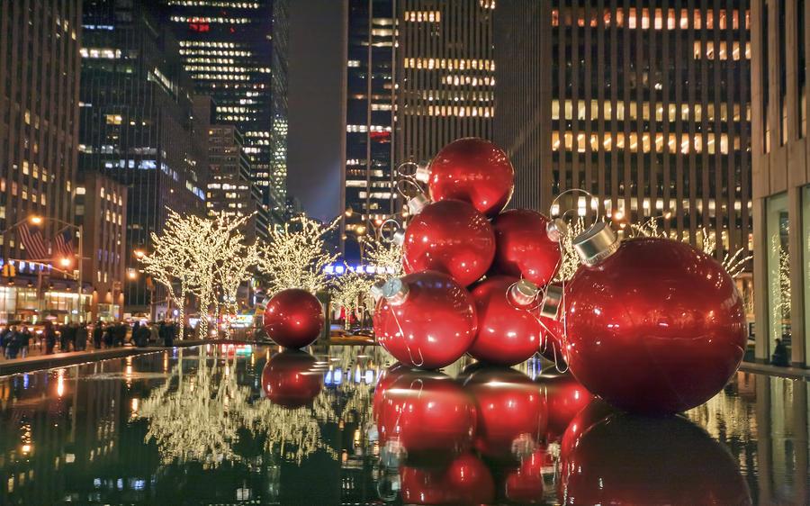 Red Bubbles Photograph