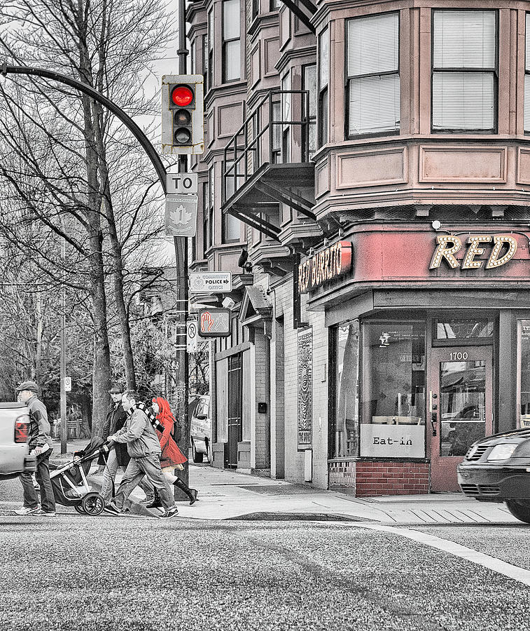 Red Burrito Photograph