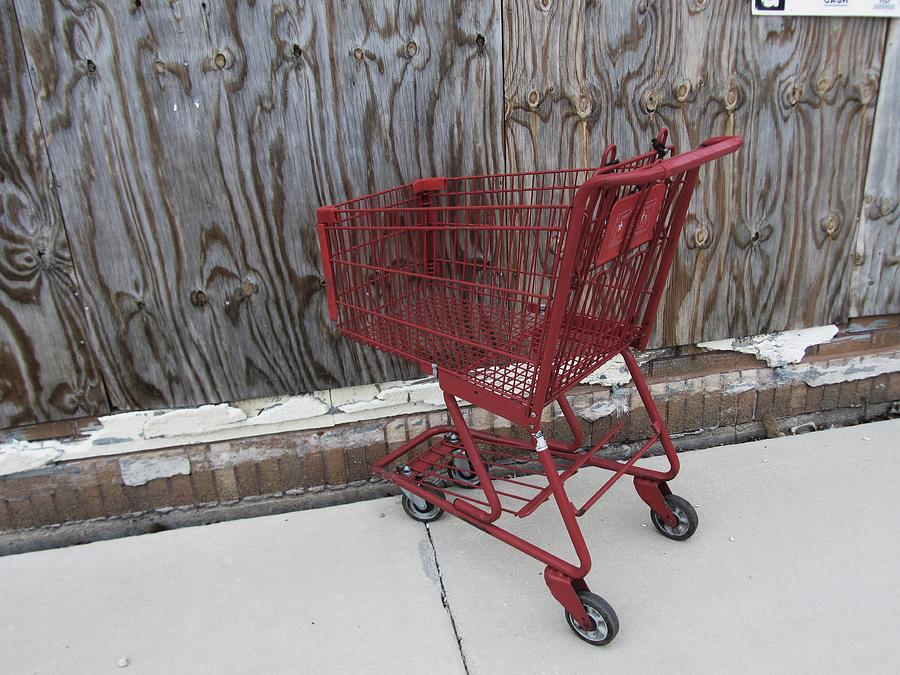 Red Cart Photograph - Red Cart 2 by Todd Sherlock
