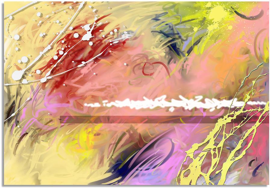 Red Convertable Digital Art