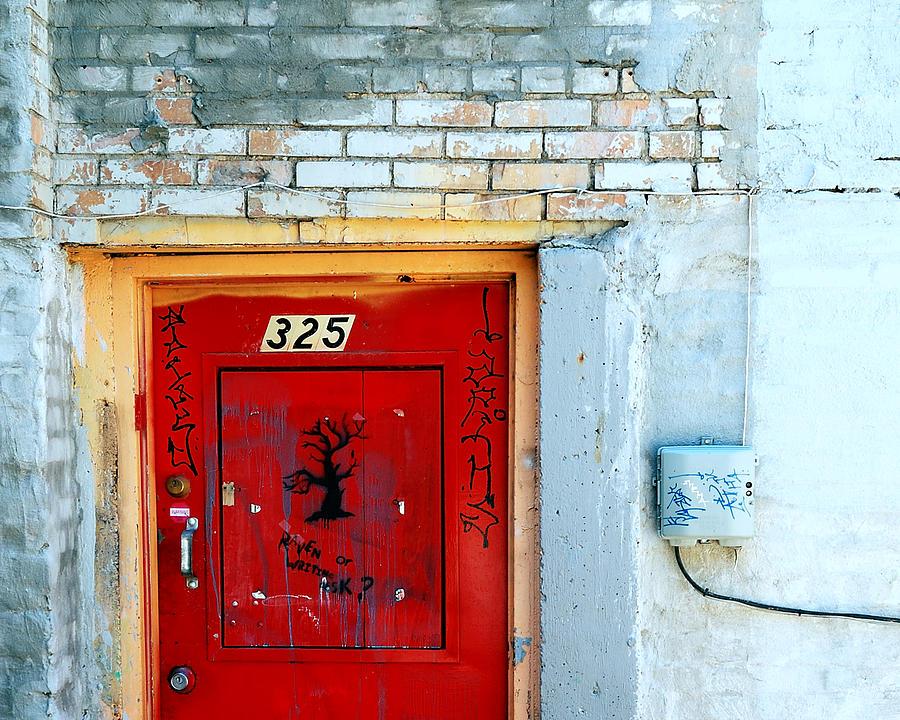 Red Door 325 Photograph