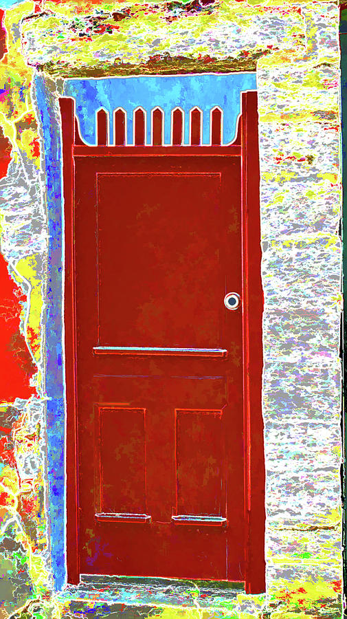 Red Door Photograph