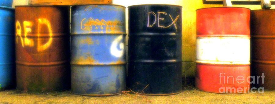 Red Dye Blue Dye Black Dye We Die Photograph