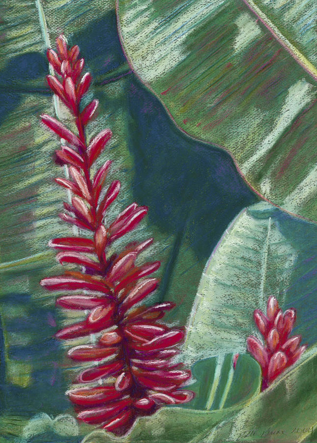 Red Ginger Painting