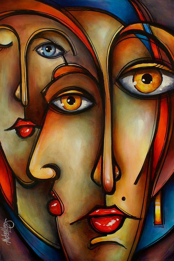 Red by michael lang for Art print for sale