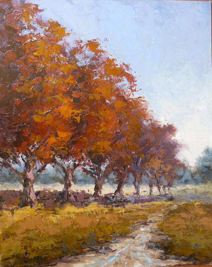 Red Oak Avenue Painting