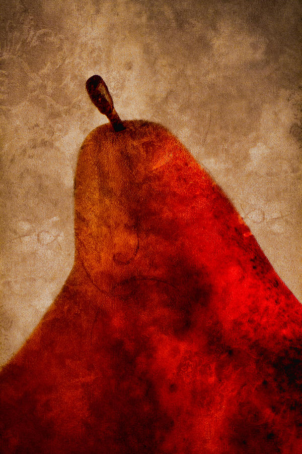 Red Pear II Photograph  - Red Pear II Fine Art Print