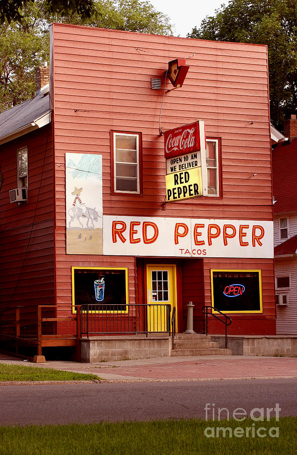 Red Pepper Restaurant Photograph