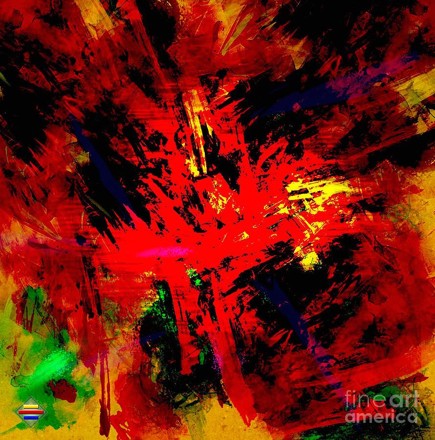 Digital Painting Digital Art - Red Planet by Vidka Art