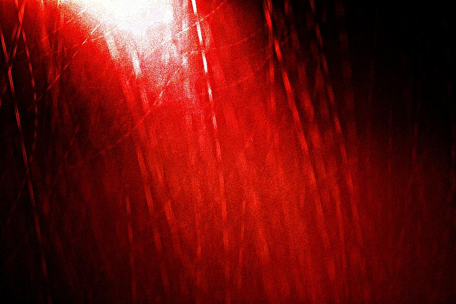 Red Rain 2 Photograph  - Red Rain 2 Fine Art Print