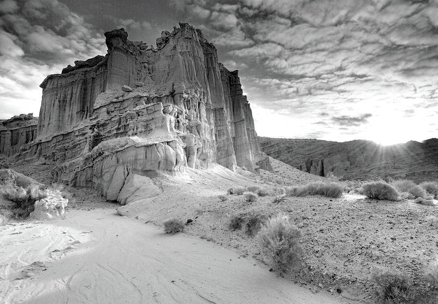 Horizontal Photograph - Red Rock Canyon State Park by David Kiene