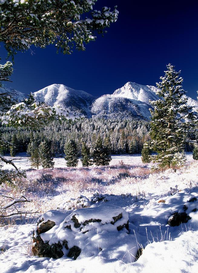 Red Rock Pass Winter Photograph