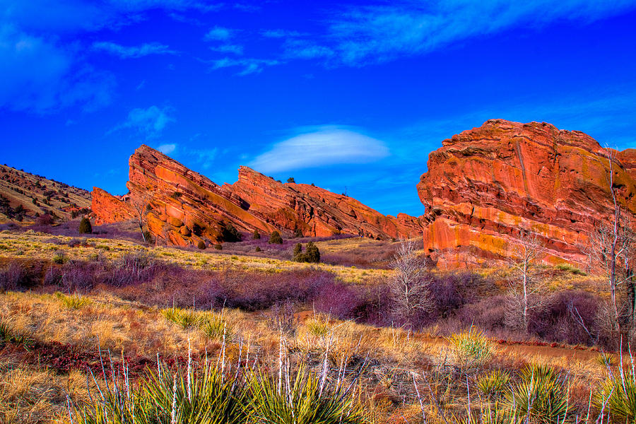 Red Rocks Park Colorado Photograph