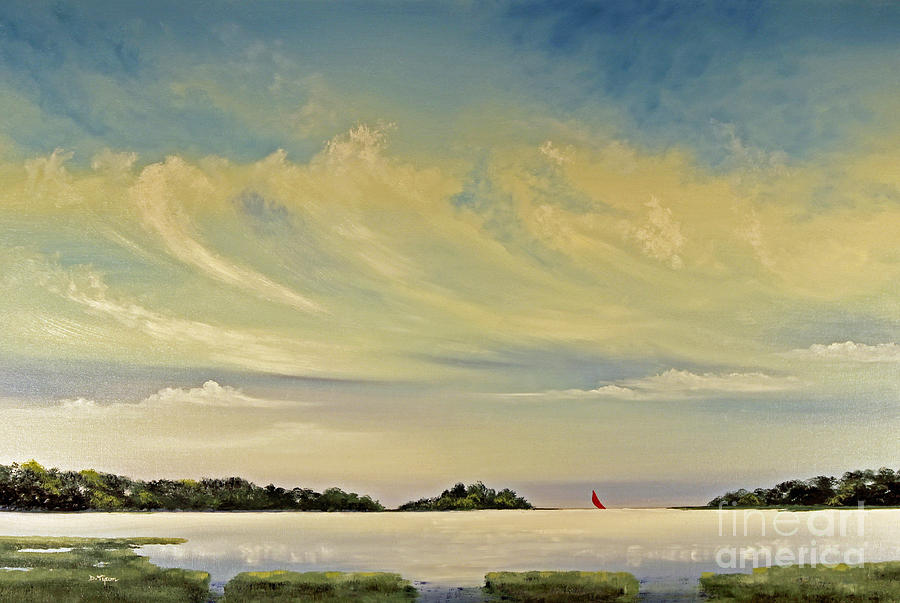 Red Sails Painting