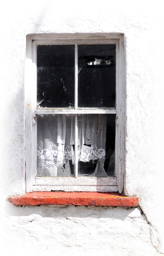 Red Sill Photograph  - Red Sill Fine Art Print