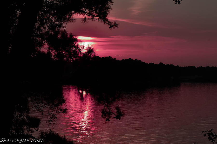 Red Sky At Night Photograph  - Red Sky At Night Fine Art Print