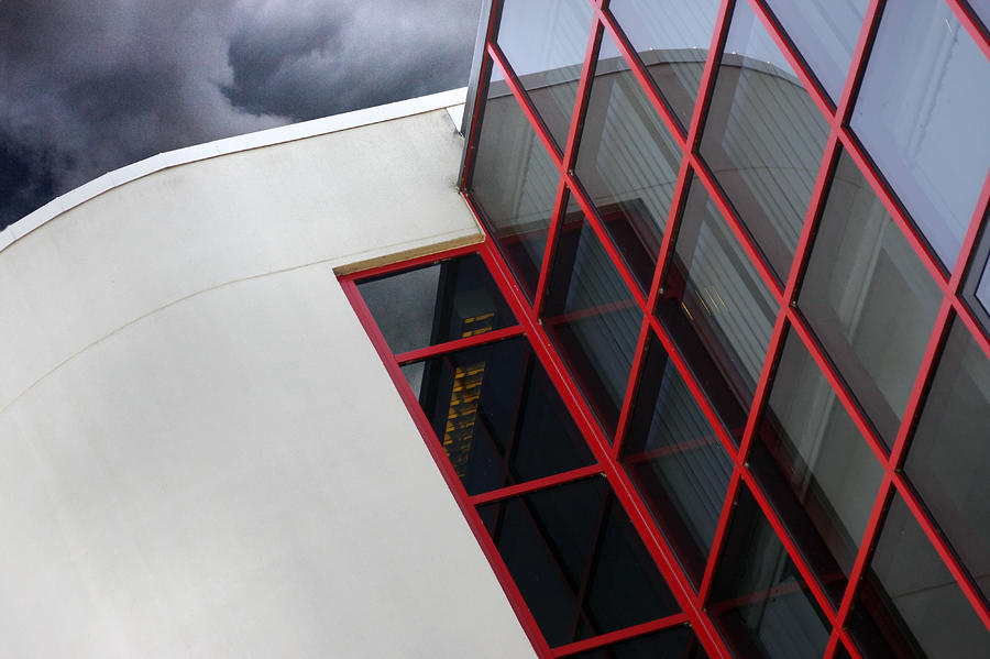 Red Squares Photograph