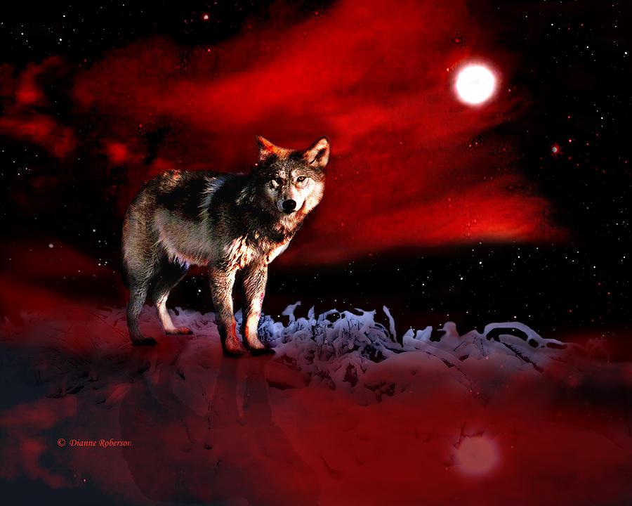 Red Wolf Art