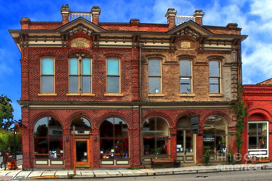 Redmens Hall - Jacksonville Oregon Photograph