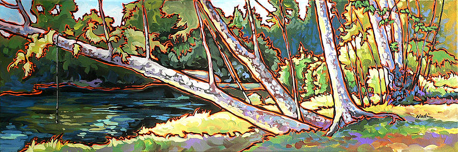 Redstone Swimmimg Hole Painting