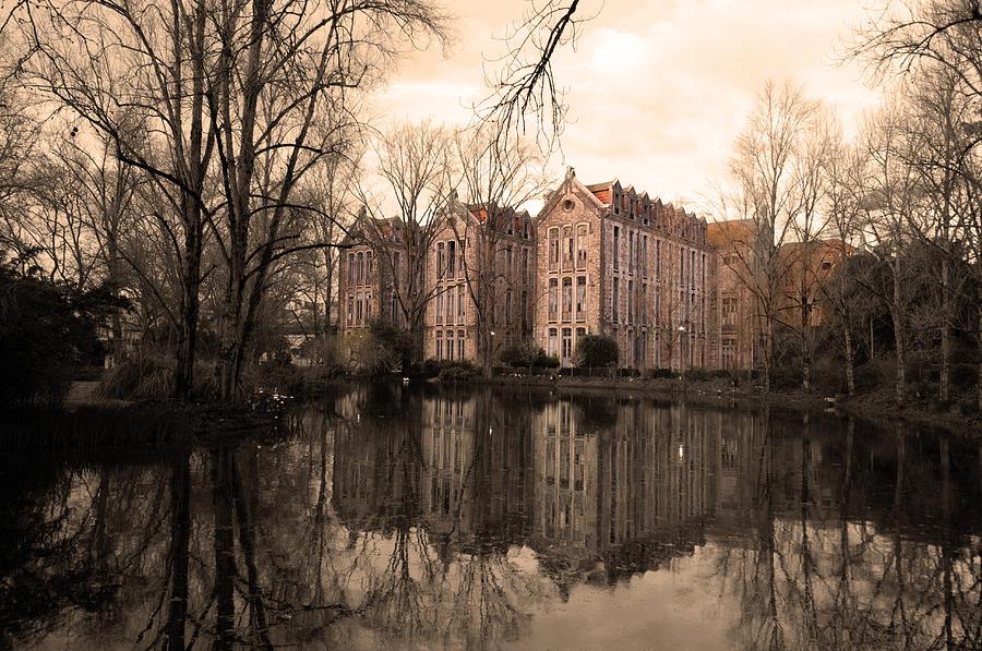Lake Photograph - Reflecting Memories by Dias Dos Reis