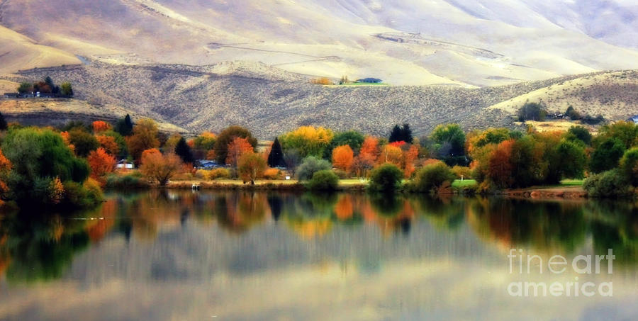 Reflection Of Fall In Prosser Photograph
