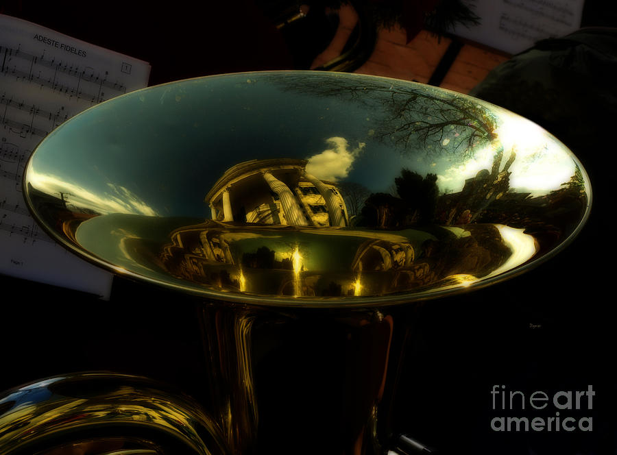 Reflections In Tuba Art   Photograph