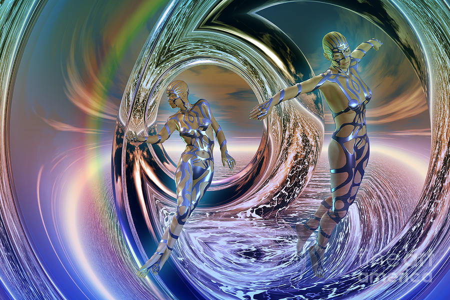 Reflections Digital Art - Reflections Of Freedom by Shadowlea Is