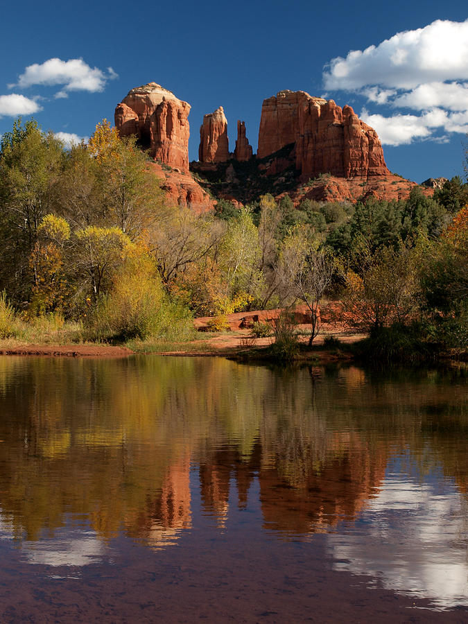 Reflections Of Sedona Photograph  - Reflections Of Sedona Fine Art Print