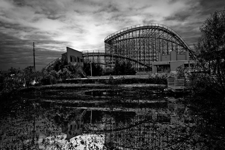 Reflections Of The Mega Zeph Photograph