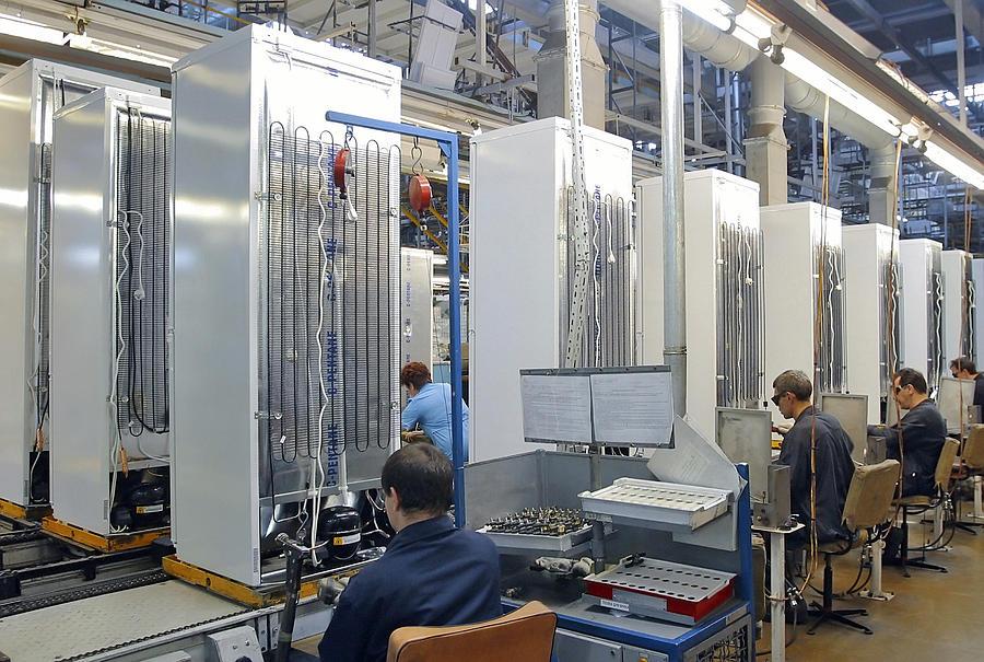 Machine Photograph - Refrigerator Factory by Ria Novosti