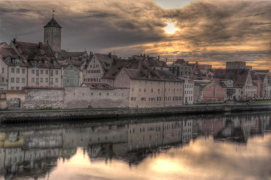 Regensburg Cityscape Photograph